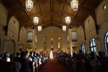 The Woodlands United Methodist Church Wedding Chapel.