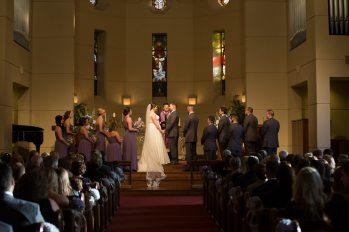 Wedding Ceremony in The Woodlands.