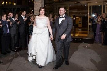 The Woodlands Wedding Photographer captured the celebratory exit.
