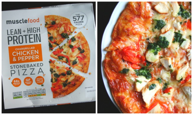 REVIEW: Musclefood High Protein Pizzas