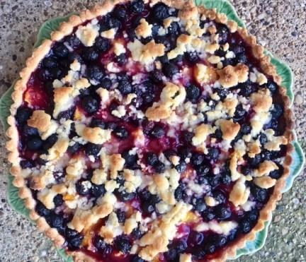 Peach Blueberry Tart 2
