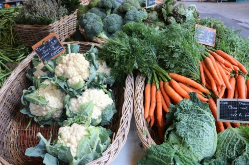 Vegetable Provence market