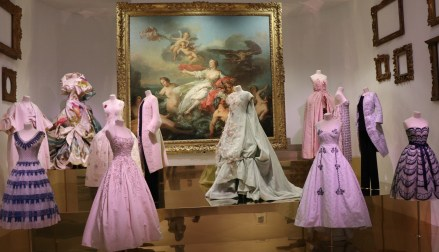 Dior gowns at the DMA