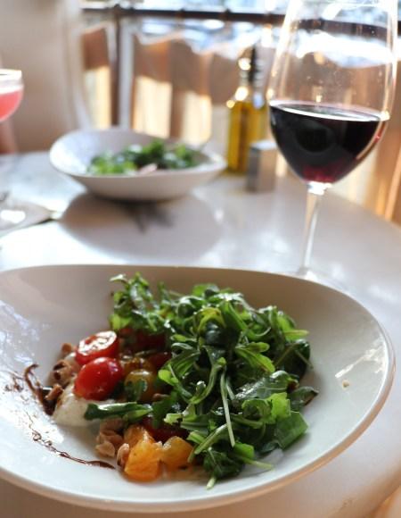 Burata salad Bistro 31