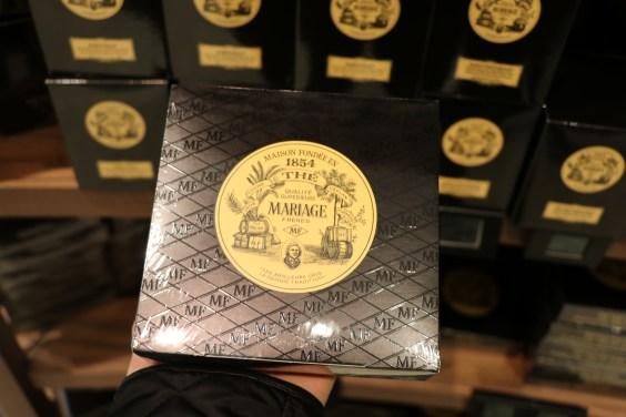 Mariage Freees tea from Paris