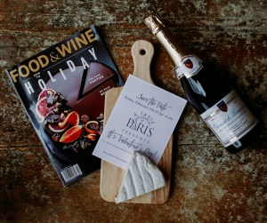 favors from the Chateau Pommard event
