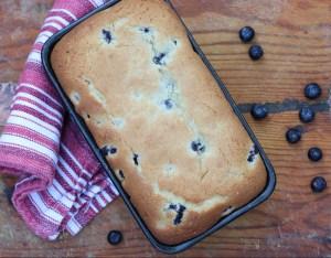 Lemon Blueberry Cream Cheese Bread
