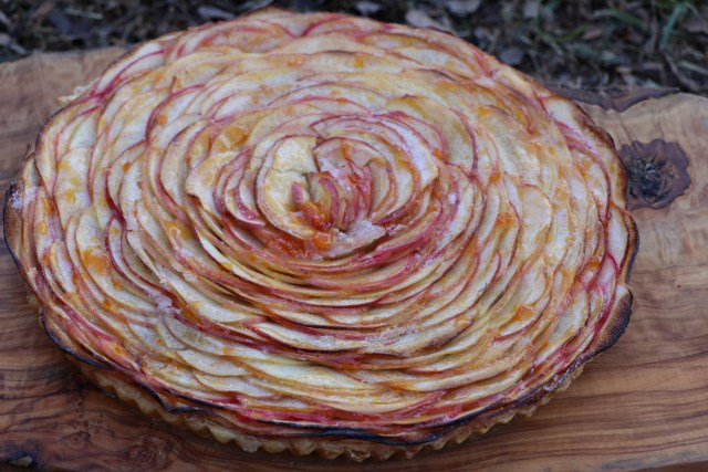 Stunning fall favorite, Bouquet of Roses Apple Tart Recipe