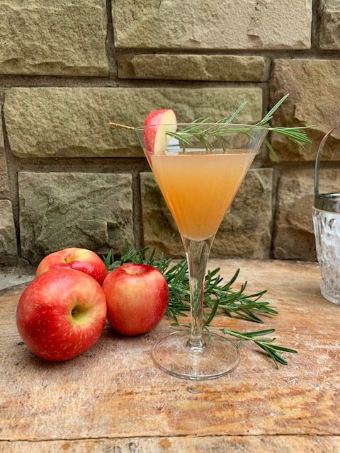 Beautiful Apple Rosemary Martini Recipe