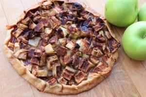Free virtual cooking class, Rustic apple tart