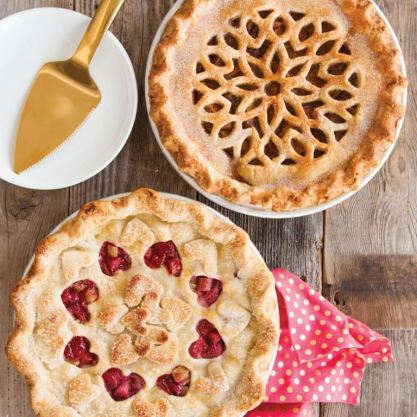 pretty pes cooking class cutwork pies- Let's Cook together!