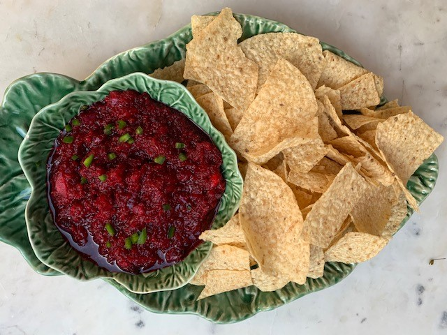 Juicy and spicy Cran-Salsa Appetizer Recipe
