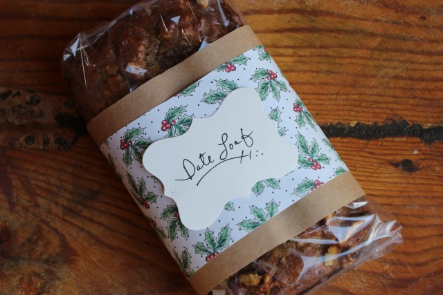 Gifts from the Kitchen- Yummy Date Loaf Recipe