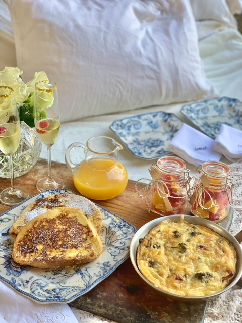 New Year's Breakfast in Bed is the perfect way to say HELLO to 2021