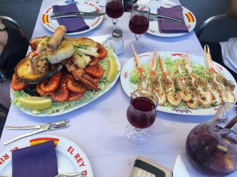 El Rey de la Gamba 2 Seafood Platter