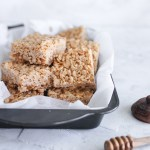 No Refined Sugar Brown Rice Crispy Treats