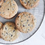 The Best Ever Crispy Chocolate Chip Cookies