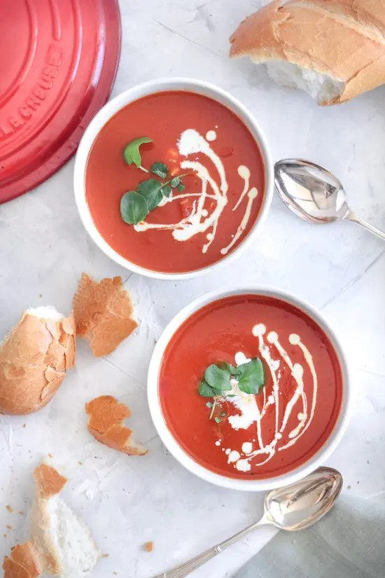 5 Ingredient Tomato Soup