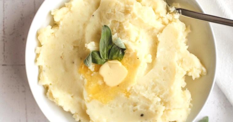 Sage Parsnip Mashed Potatoes