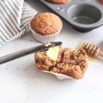 Chai Whole Wheat Honey Muffins