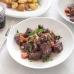40 Minute Beef Bourguignon