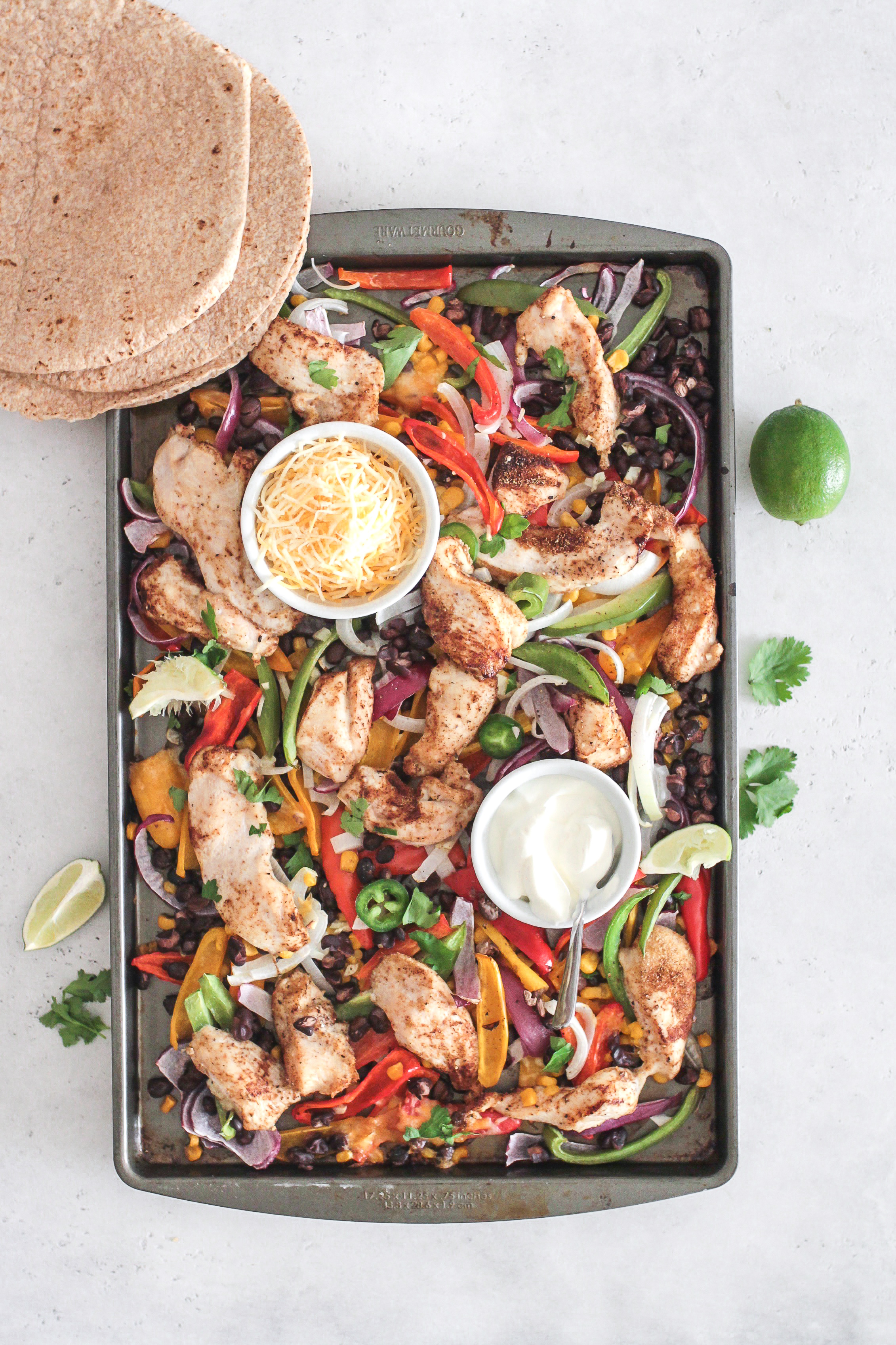 Chicken Fajita Sheet Pan Meal