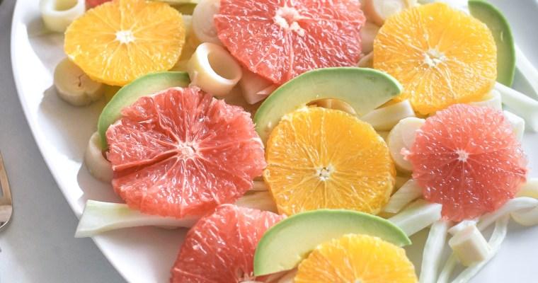 Citrus Fennel Avocado Salad