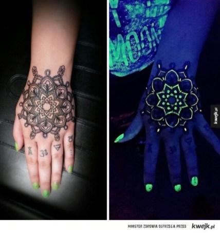 10 UV tattoo design