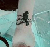 14 Awesome Wrist Bird Tattoo for Women