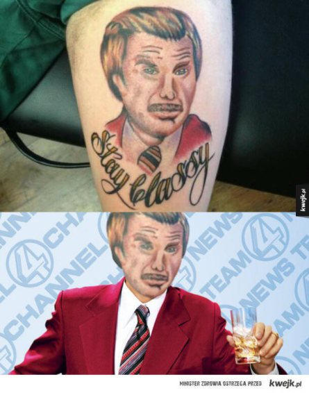 Stay Classy with Anchorman