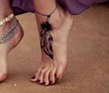 feathers tatoo design