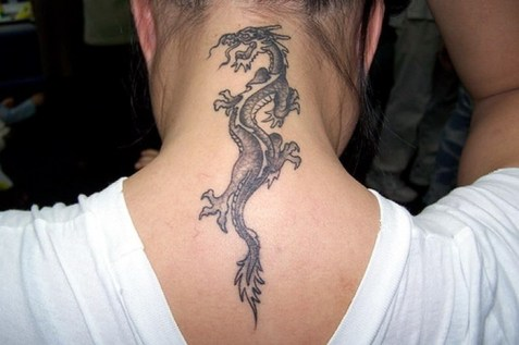 Small Dragon Tattoos for Women | pretty dragon tattoos FOR GIRL https://pl.pinterest.com/pin/440719513519174479/