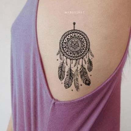 Amazing tattoo work on ribs