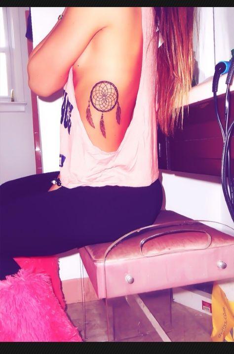 Dream catcher tattoo hippy tattoo