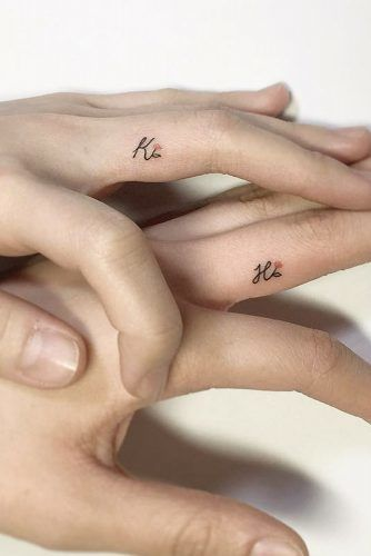 First letters of tattoo names for couples