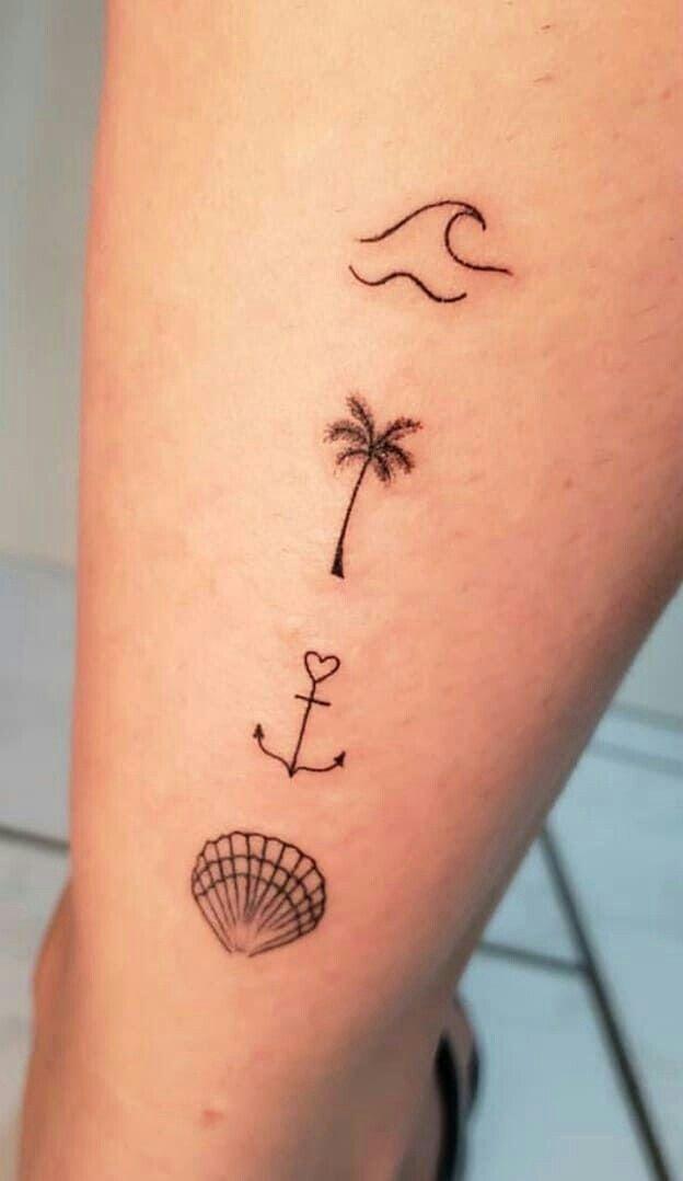 Summer symbol tattoo cute ideas for tattoo