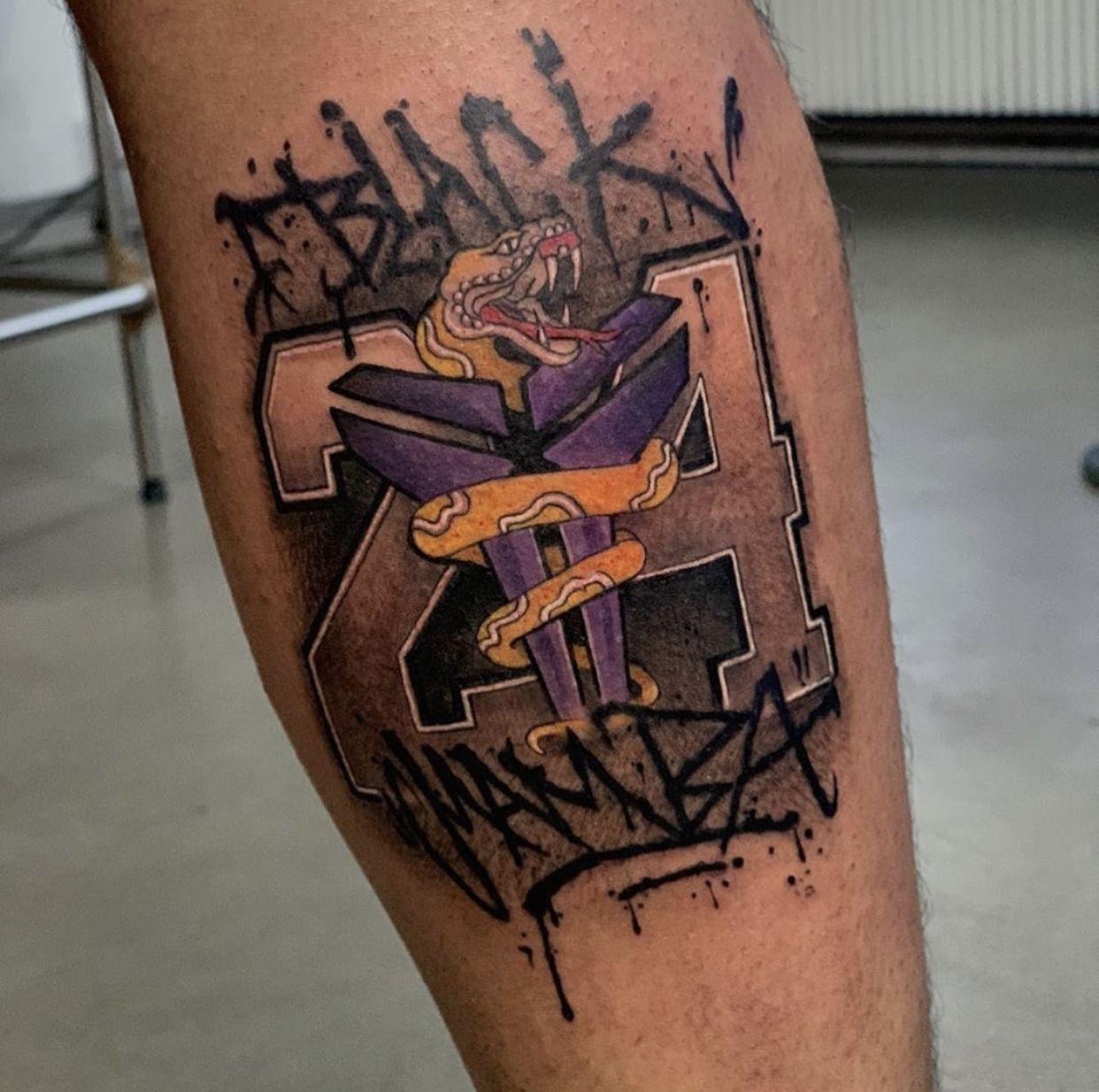 Black Mamba tattoo ideas