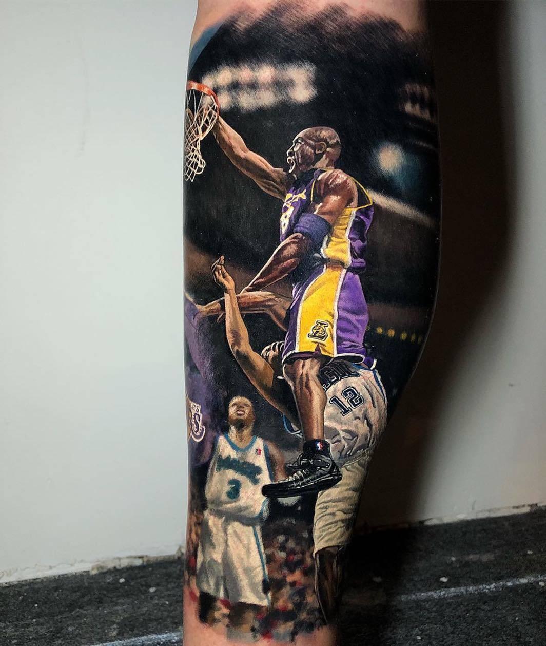 The NBA legends tattoo