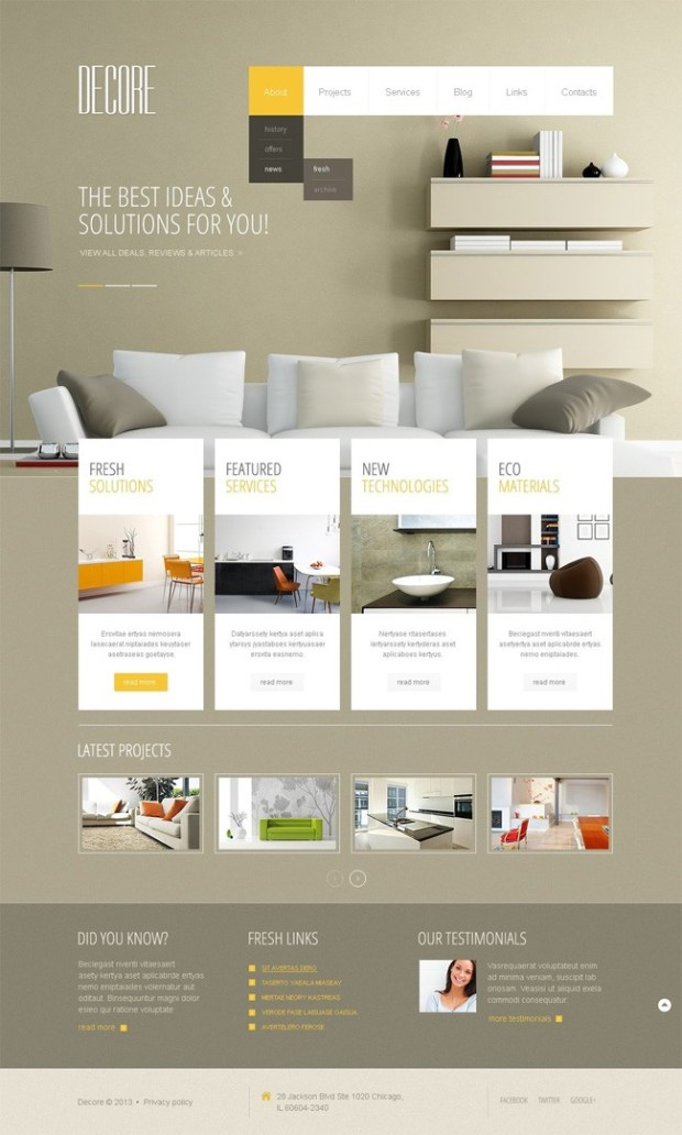 Stylish-Interior-Design-WordPress-Theme