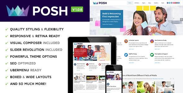 posh-responsive-multipurpose-wordpress-theme