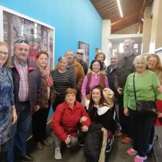 """Centro de Participación Activa """"Los Naranjos II"""" Visita sobre Pilar CItoler, UCOCultura"""