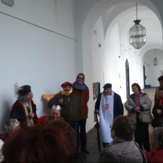 """Visita teatralizada Diputación Centro de participación activa """"Los naranjos II"""" y """"Cañero-Fuensanta"""""""