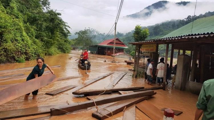 """""""Theo thống kê từ năm 2012 đến 2017, rừng mất do thủy điện chiếm khoảng 68,2%""""-Ông Đỗ Quang Tùng, Quyền Cục trưởng Cục Kiểm lâm. (Ảnh: TTXVN/Vietnam+)"""