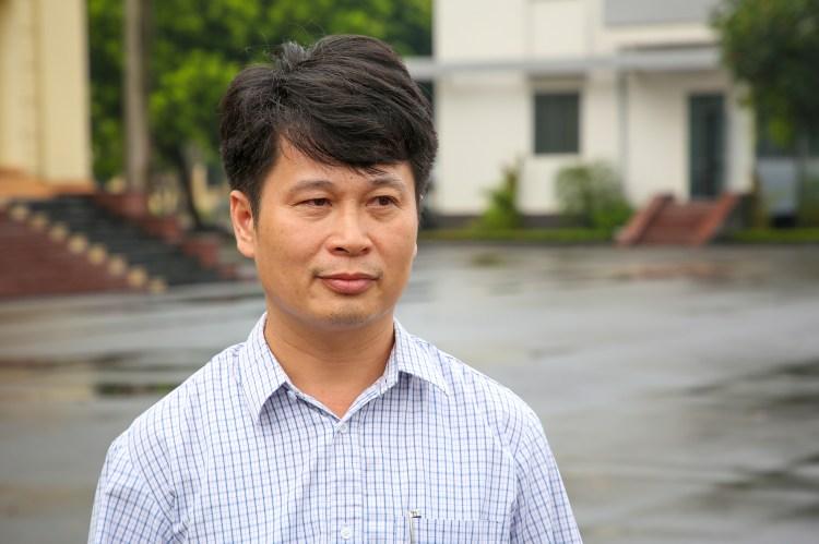Ông Ngô Đăng Tuấn (Phó Trưởng phòng Nông nghiệp huyện Việt Yên). Ảnh: Vietnam+