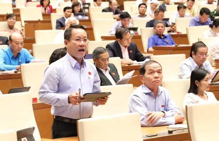 Đại biểu Quốc hội tỉnh Cà Mau Thái Trường Giang. (Nguồn ảnh: TTXVN)