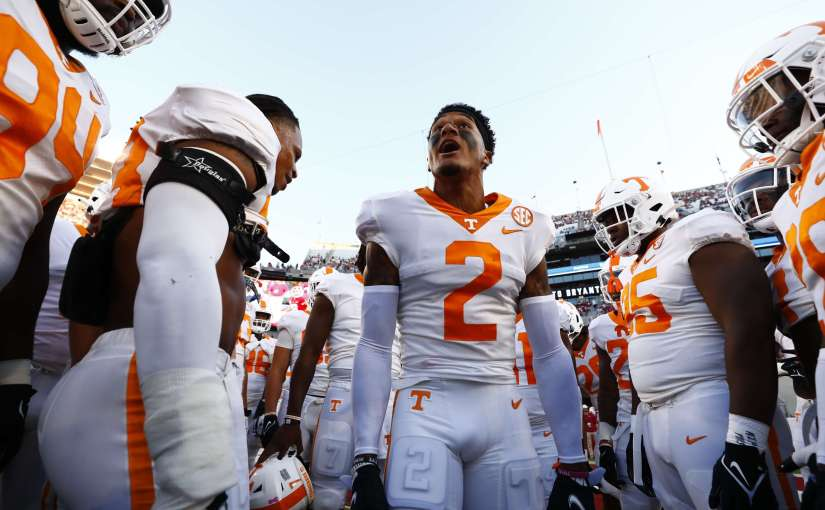 Tennessee Volunteers compete, fall to #4 Alabama, 52-24