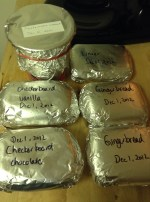 worry about freezer burn so warp in another layer of foil