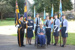 Standard bearers with Lord Lt