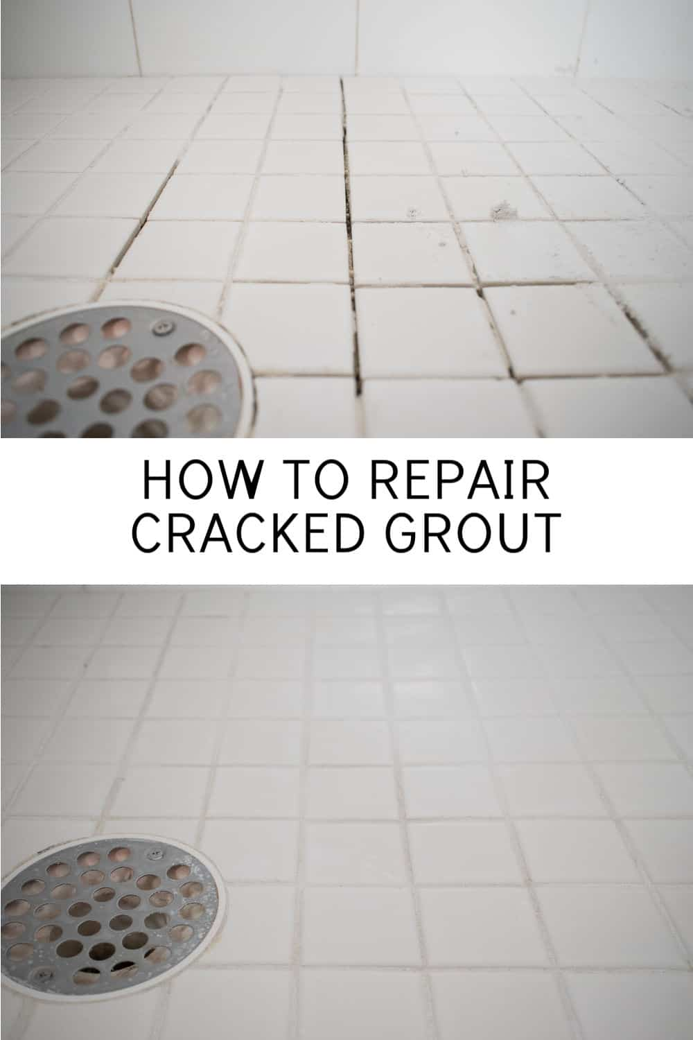 how to fix cracked grout at charlotte