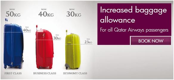 Qatar Airways ups baggage allowances – ATC News by Prof ...